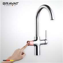 Bravat Stylish Electric Deck Faucet With Filter