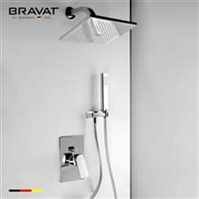 Bravat Stylish Chrome Finished Ceiling Mount Bathroom Faucet