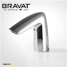 Bravat Commercial Automatic Commercial Application Electronic Sensor Faucet  Bright Chrome