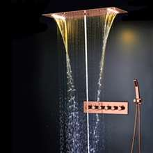 Fontana Showers Extreme Luxury 3-Way Shower Head With Body Jet & Hand Shower