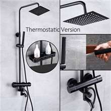 Milan Thermostatic Dark Oil Rubbed Bronze Sprayer Shower faucet - Type D