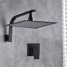 Fontana Bisbee Single Function Premium Wall Mount Square Shower Set