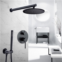Fontana Florence Wall Mounted Hot and Cold Mixer Rainfall Shower Set