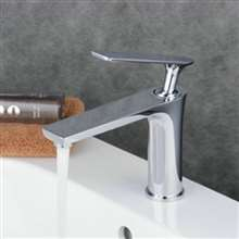 Fontana Modena Chrome Bathroom Sink Faucet