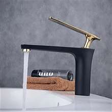 Fontana Modena Hot and Cold Mixer Oil Rubbed Bronze Bathroom Sink Faucet