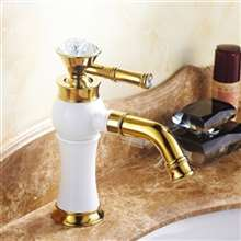 Fontana Torino Antique Style 360 Rotatable Deck Mount Sink Faucet