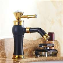 Antique Style 360 Rotatable Deck Mounted Sink Faucet