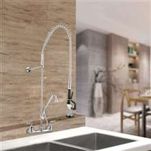 Fontana Lyon Double Handle Brass Pre-Rinse Spray Function Faucet