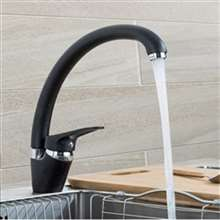 Fontana Verona Single Handle Dark Oil Rubbed Bronze Cold and Hot Kitchen Faucet