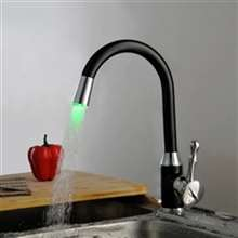 Fontana Reno Oil Rubbed Bronze Led Changing Kitchen Sink Faucet