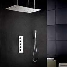Verona Temperature Controlled LED Shower System