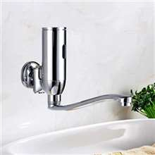 Denver Wall Mounted Brass Automatic Sensor Bathroom Faucet D