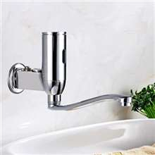 Denver Wall Mounted Brass Automatic Sensor Bathroom Faucet F