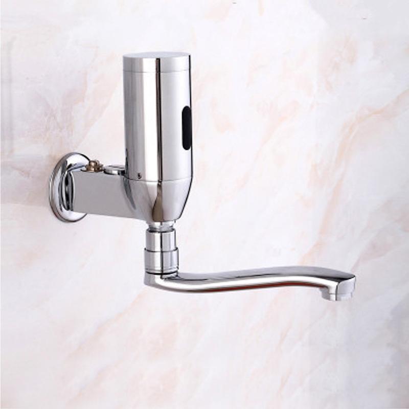 Cool Denver Wall Mounted Brass Automatic Sensor Bathroom Faucet I Download Free Architecture Designs Momecebritishbridgeorg