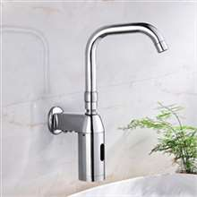 Denver Wall Mounted Brass Automatic Sensor Bathroom Faucet R