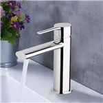 Fontana Crossett Solid Brass Hot And Cold Water Mixer Single Handle Faucet