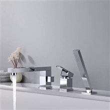 Fontana Magnolia Dual Function Hot and Cold Bathtub Faucet