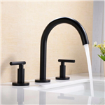 Fontana Newport Three Hole Widespread Bathroom Sink Faucet