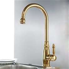 Turrubares Deck Mount Kitchen Sink Faucet