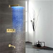 Sita Platinum LED Shower Head Set