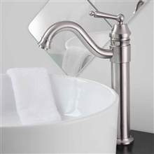 Briano Brushed Nickel Bathroom Sink Faucet
