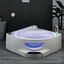 Texas Large Luxury Whirlpool Massage Bathtub