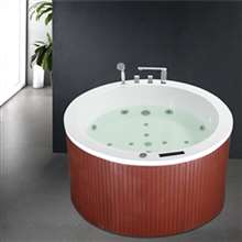 Napoli Large Luxury Whirlpool Massage Bathtub