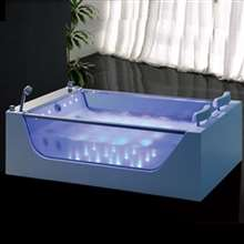 Sierra Large Luxury Whirlpool Massage Bathtub
