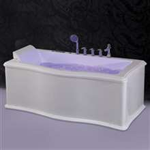 Reno Deep Modern Whirlpool Massage Bathtub