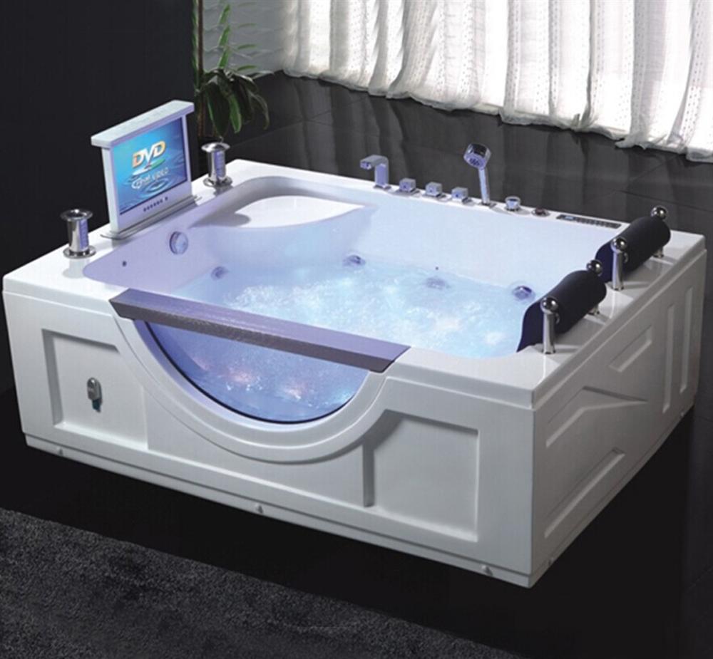 Shop Fontana Denver Whirlpool Massage Two Person Luxury Bathtub At Fontanashowers Com
