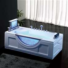 Reno Luxurious One Person Whirlpool Massage Indoor Bathtub