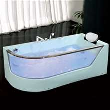 Chicago One Person Whirlpool Massage Rectangular Bathtub