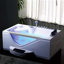 Texas One Person Whirlpool Massage Rectangular Bathtub