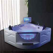 Rio Corner Indoor Massage Bathtub