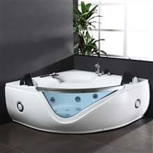 Atlanta Bathroom Free Standing Combo Massage Bathtub