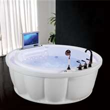 Peru Circle Hydraulic Whirlpool Massage Bathtub