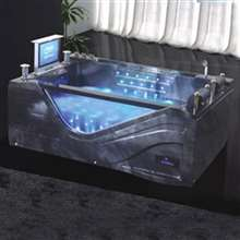 Milan Deluxe Whirlpool Massage Bathtub with LCD TV
