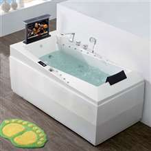 Napoli One Person Freestanding Indoor Massage Acrylic Bathtub