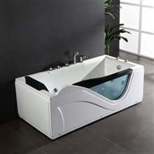 Chicago One Person Jetted Combo Massage Acrylic Bathtub