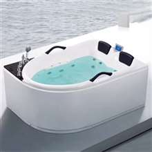 Denver Two Person Large Size Combo Massage Acrylic Bathtub