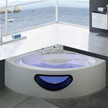 Verona Combo Massage Jetted Corner Bathtub