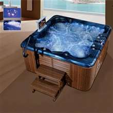 Milan Whirlpool Massage Outdoor Freestanding Bathtub