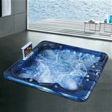 Napoli Five Person Drop-In Whirlpool Massage Bathtub