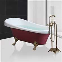 Sierra Indoor Freestanding Soaking Bathtub