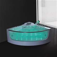 Milan Two Person Combo Massage Indoor Sector Bathtub