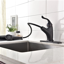 Mona Oil Rubbed Nickel Kitchen Sink Faucet
