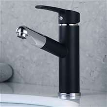 Verdal Pull Out Oil Rubbed Bronze Bathroom Sink Faucet