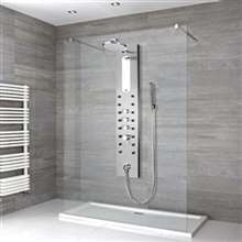 Shower Panel Rain Style Massage Jets System
