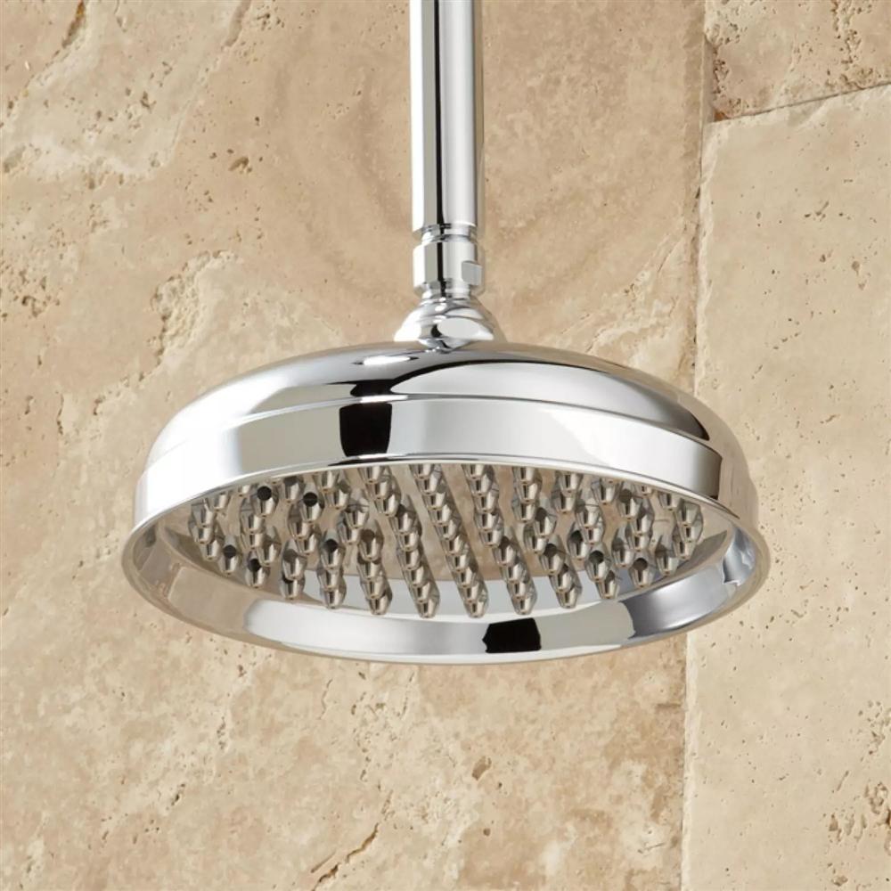 Ceiling Mount Shower System Rainfall Shower - Hand Shower - Brushed ...