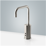 Fontana Leo Commercial Brushed Nickel Electronic Automatic Sensor Faucet